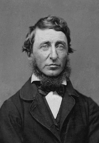 Henry David Thoreau, B. D. Maxham (1821-1899)